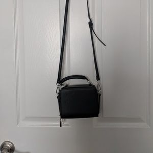 Urban Outfitters Black Violet Box Crossbody Bag